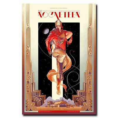 The Rocketeer 12x18inch Classic Movie Silk Poster Cool Gifts Wall Decoration