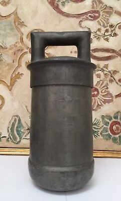 ANTIQUE RARE 18th CENTURY PEWTER ICE CREAM MAKER SORBETIERE