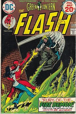 Flash 230 - 1974 - Green Lantern - Fine +