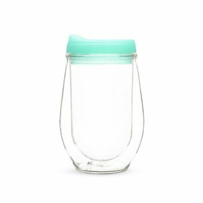 Travel Tumblers, Mint Insulated Plastic Double Wall Tumbler Travel