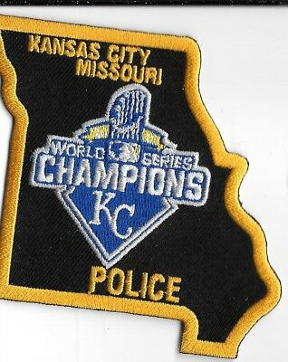 Kansas City Missouri Kc Kansas City Novelty Shoulder Patch Police Dept Kcpd