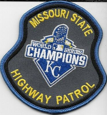 Missouri Highway Patrol Mhp  Kc Kansas City Novelty Shoulder Patch Police Dept