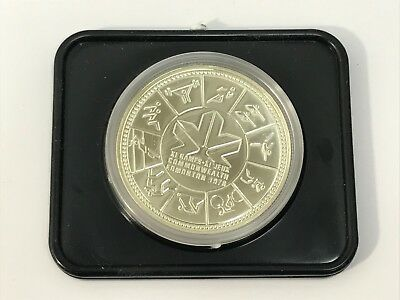 1978 CANADA SILVER DOLLAR EDMONTON COMMONWEALTH XI GAMES in CASE and BOX