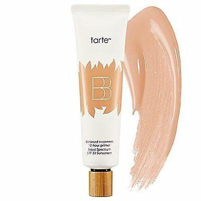 Tarte BB Tinted Treatment 12-Hour Primer SPF 30 Sunscreen MEDIUM 1oz NIB