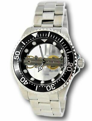 Invicta Pro Diver Ghost Bridge 24692 Stainless Mechanical Skeleton Watch 47mm