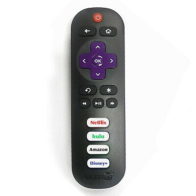 New Remote RC280 fit for TCL ROKU TV w/ Volume control and TV power button