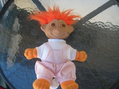 vintage rare troll doll  retro from 70s era original 30cm