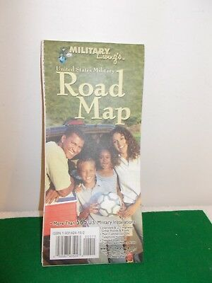 Military Living United States Military Road Map, 2004
