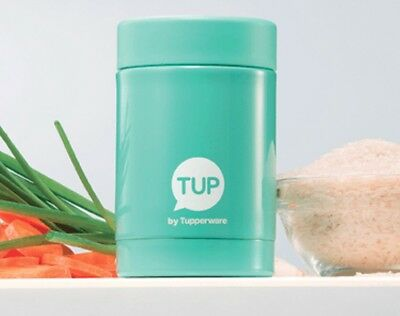 TUPPERWARE Mini Thermos 250ml Mint Green Brand New In Box Thermal Baby Food