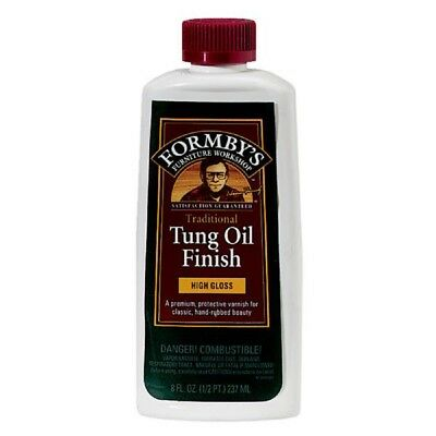 Formby's Wood Furniture High Gloss Tung Oil Finish 8 Oz 30066