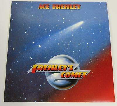 """Ace Frehley KISS Signed Autograph """"Frehley's Comet"""" Album Vinyl Record LP by 4"""