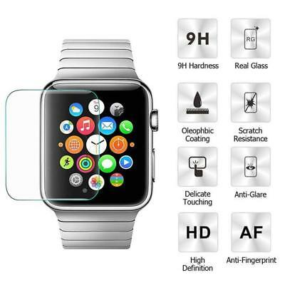 Premium Tempered Glass HD Full Screen Protector Apple Watch 1 2 3 Series 38-42mm