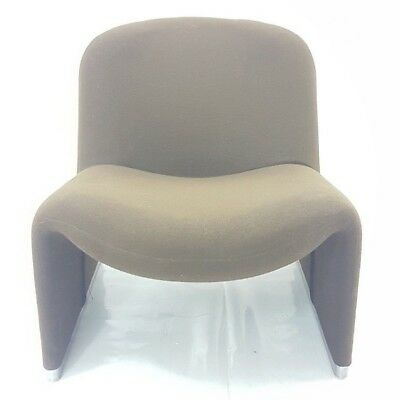 armchair alky design giancarlo piretti for anonymous castelli 70's vintage