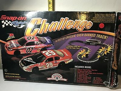 RARE, collectable, Snap On Tools Limited Edition Slot Car Set