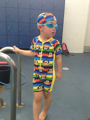 KIDS BABY BOYS TODDLERS SUIT SWIMWEAR SWIMMING COSTUME Size 3-6