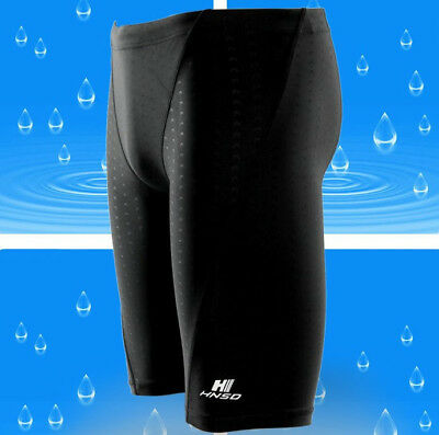 Men's Boys Swimming Swim Trunks Boxer Shorts Jammer Sharkskin Racing Pants SMT01