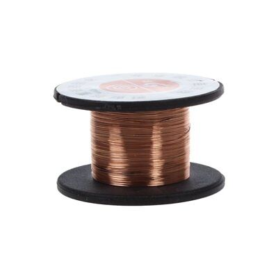 15m 0.1MM Copper Soldering Solder Enamelled Reel Wire Roll Connecting Q6S7