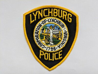 New: Lynchburg VIRGINIA Police Patch