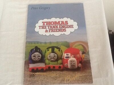 Peter Gregory Knitting Pattern Booklet Thomas The Tank Engine