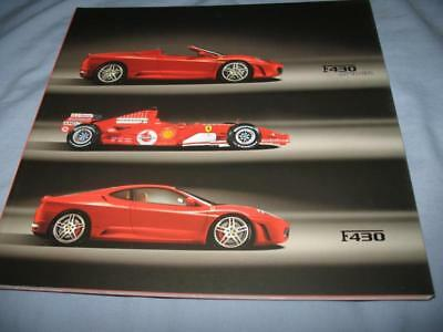 Ferrari F430/ F430 Spider brochure 70 pages 23/13-2005