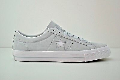 e7ebac0fe886 Mens Converse One Star Suede Ox Shoes Size 9 - 13 Poplar Blue White 153963C