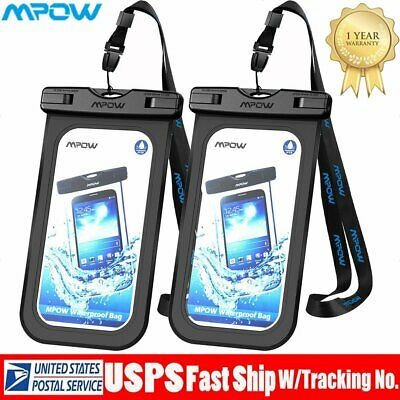 best sneakers bc0aa 68085 MPOW FLOATING WATERPROOF Bag Underwater Pouch Dry Case Phone Cover For  iPhone US