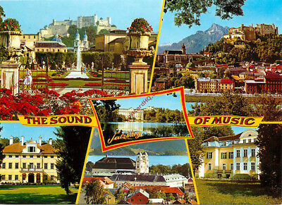 Picture Postcard: Salzburg, The Sound Of Music (Multiview) 288