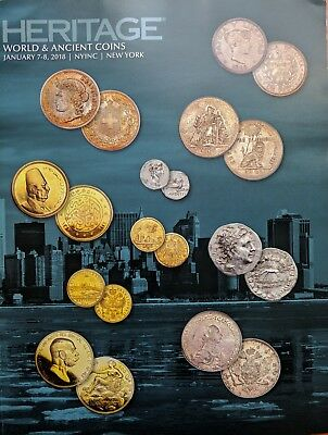 Heritage Roman China World Ancient Gold Coin Auction Catalog January 2018 NYINC