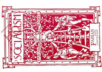 Picture Postcard~ Leeds Postcards, Socialism, The Fabian Society