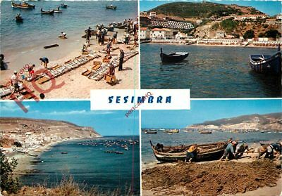 Picture Postcard:-Sesimbra (Multiview)
