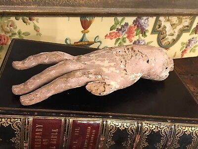 18th Century French Carved Santos Hand