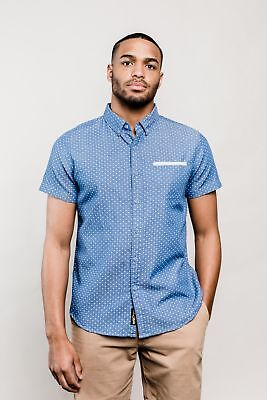 United By Blue S/S Wenlock Chambray Shirt