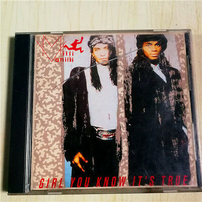 Milli Vanilli - Girl You Know It's True EU CD M-1126