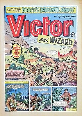 VICTOR & WIZARD - 16th SEPT 1978 (11 - 17 Sept) RARE 40th BIRTHDAY GIFT !! FINE