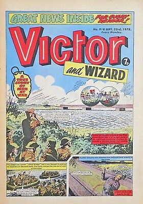 VICTOR & WIZARD - 23rd SEPT 1978 (18 - 24 Sept) RARE 40th BIRTHDAY GIFT !! FINE