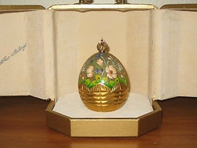 """Faberge """"Summer"""" Egg #45 of 750 Rare and Beautiful!!"""