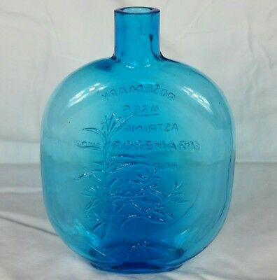 Clevenger Brothers South Jersey Blue Rosemary Herb Bottle 1980's