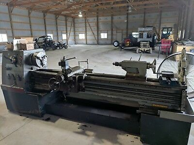 Clausing Colchester Lathe 17 X 80 Steady Rest 3 Jaw Chuck