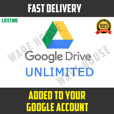 Google Drive Unlimited lifetime added to your Google Account PROMOTION ⭐ not edu