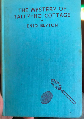 THE MYSTERY OF THE TALLY-HO COTTAGE Vintage ENID BLYTON