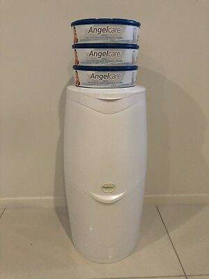 Angelcare Nappy Bin Starter Kit with Refills