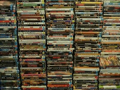 DVD Bulk Lot 4 Every Disc $3.99 Fast Free Post Mixed Genres Region 4 Bundle