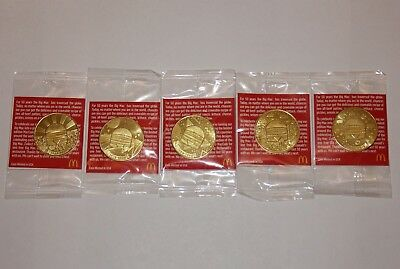 NEW McDonalds Big Mac Coin Maccoin Pick 1968-1978 1978-1988 1998-2008 2008-2018
