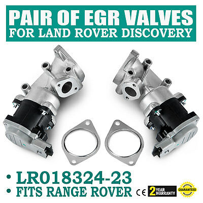 New EGR Valve Land Rover Discovery 3 4 Range Rover Sports 2.7TD Left & Right