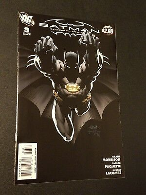 Batman Incorporated #3 Finch Variant HTF Vol. 1 DC Tough Black Cover NM