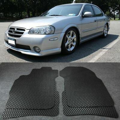 2000 2003 Nissan Maxima Frost Gray Carpeted Floor Mats Front Rear