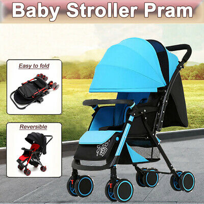 New Baby Stroller Pram Pushchair Newborn Travel System Buggy Foldable Carriage