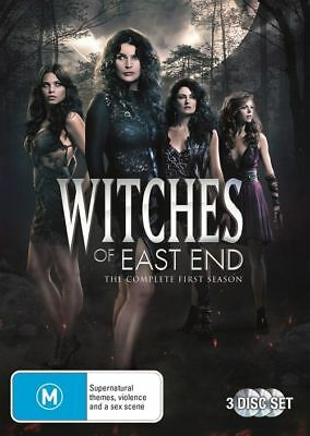 Witches Of East End : Season 1 (DVD, 2014, 3-Disc Set) Brand New & Sealed
