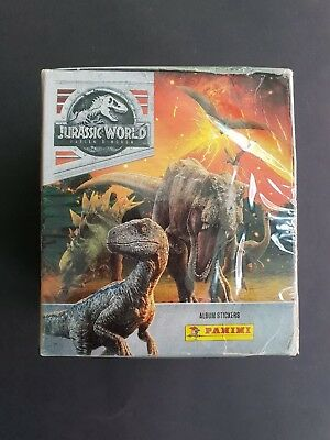 Panini Jurassic World Fallen Kingdom   Sticker    50 Tüten  NEU