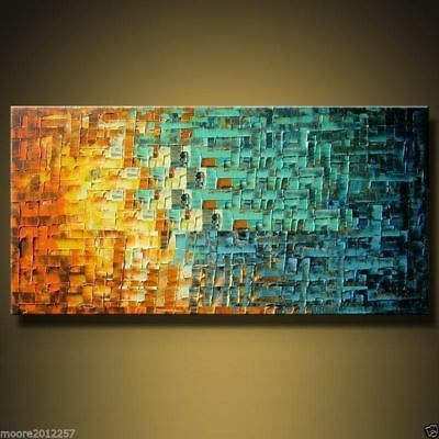 modern abstract large 100% hand-painted oil painting art on canvas